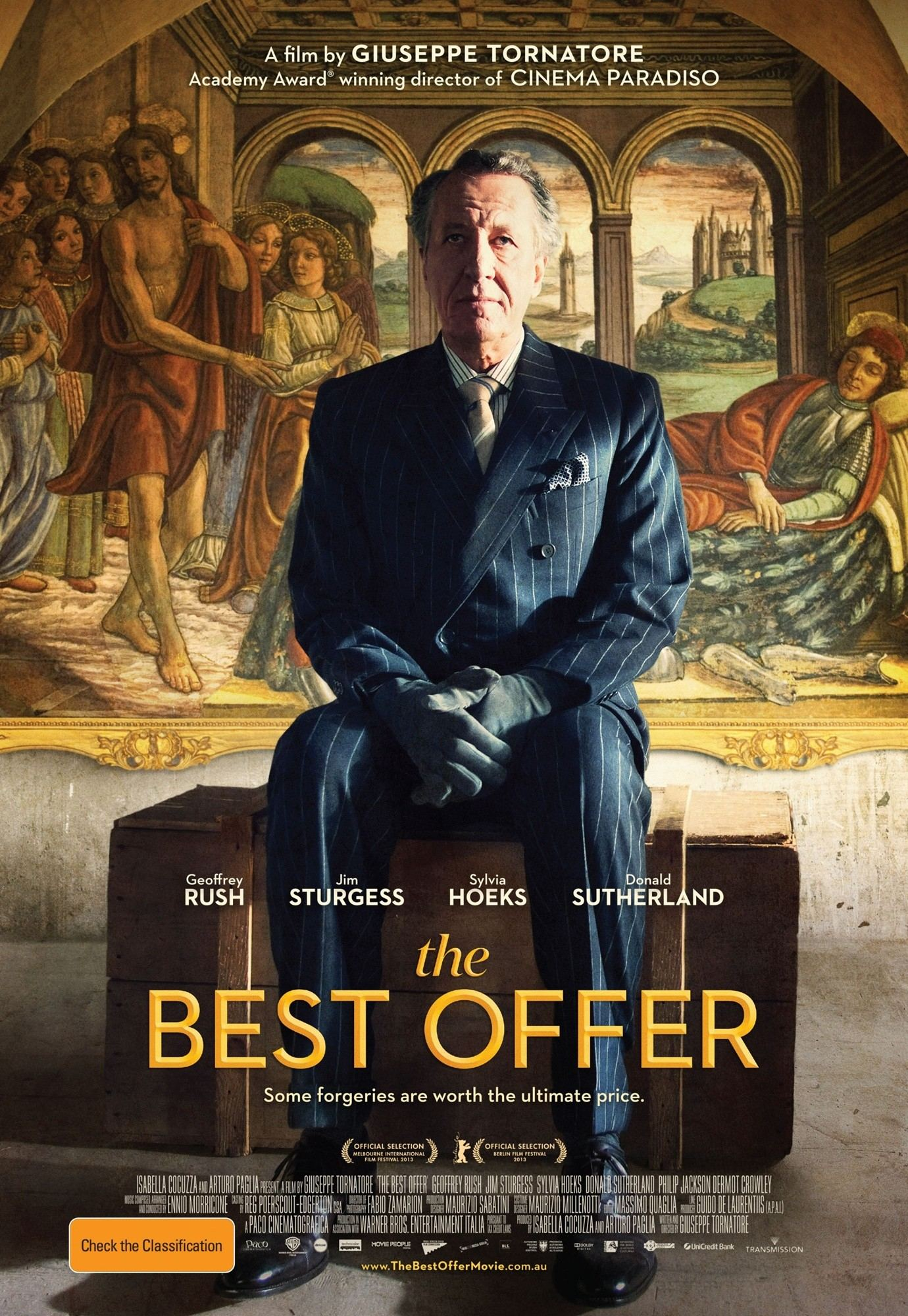 The Best Offer Movie Reviews Top Up Upan